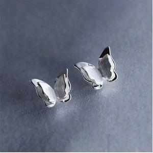 4/$25 Dainty Butterfly S925 Stud Earrings